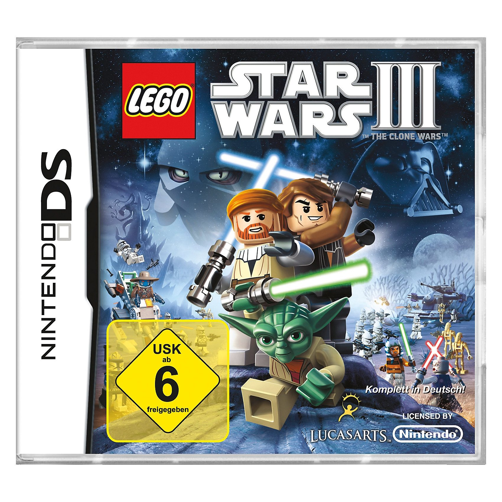 ak tronic NDS Lego Star Wars 3