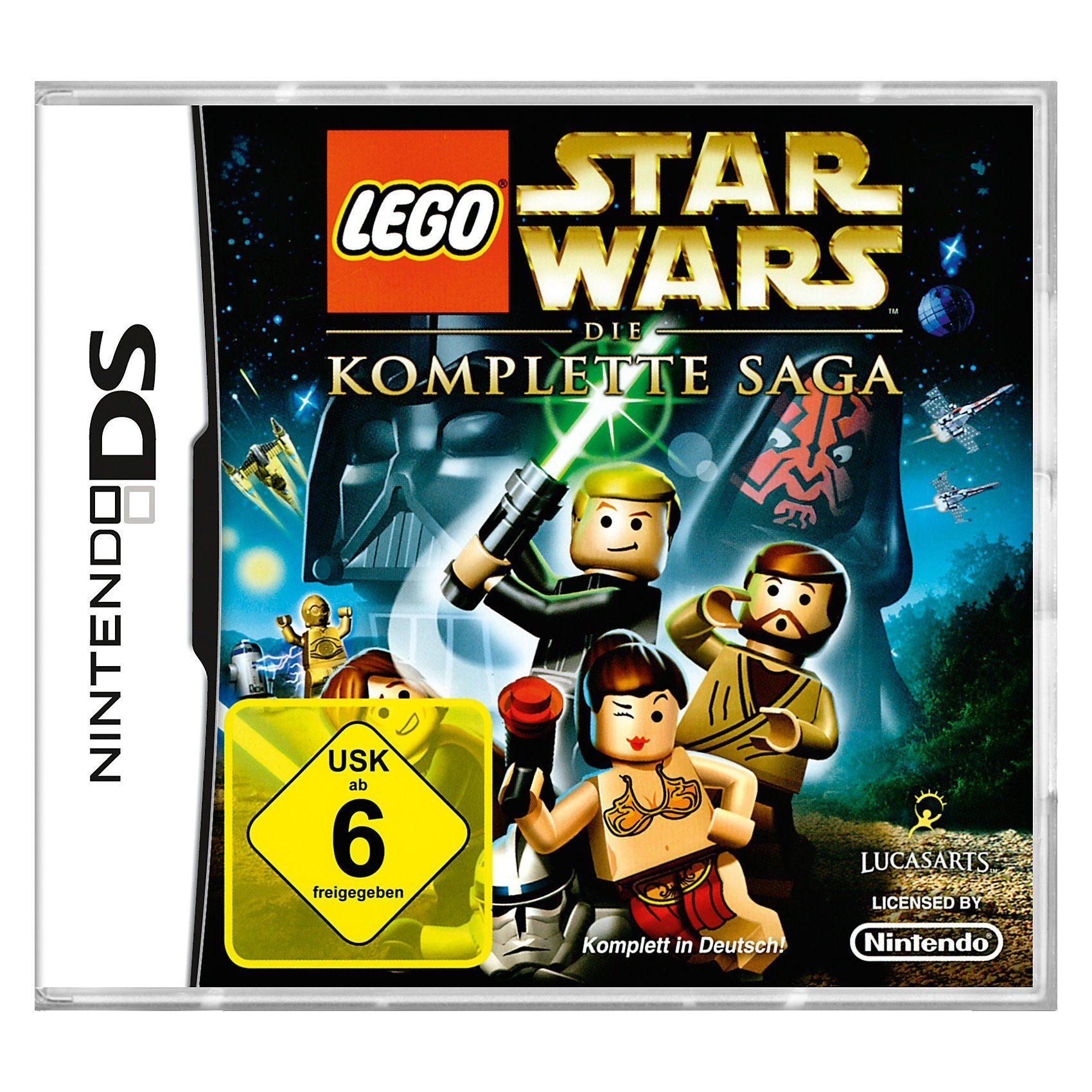 ak tronic NDS Lego Star Wars: Komplette Saga