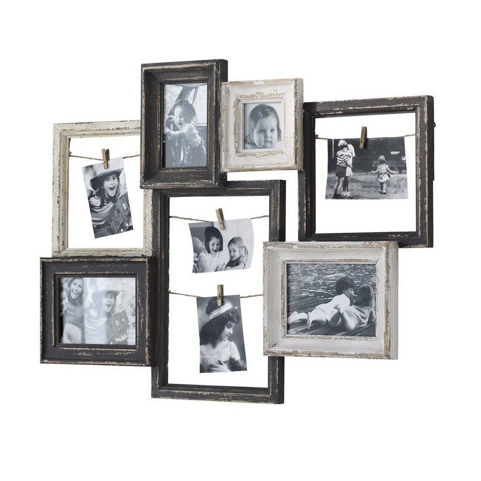 Loberon Bilderrahmen »Alton« in schwarz/weiß