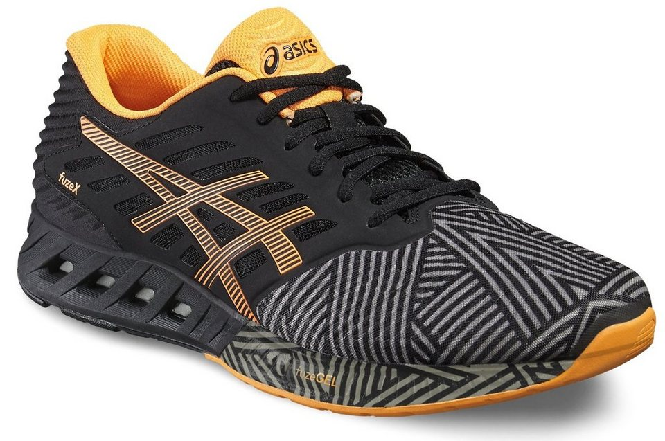 asics Runningschuh »fuzeX Shoe Men« in schwarz