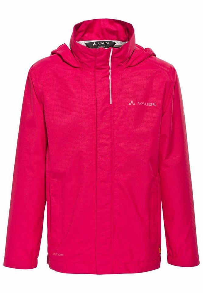 VAUDE Outdoorjacke »Escape Light Jacket Kids 2,5L« in pink