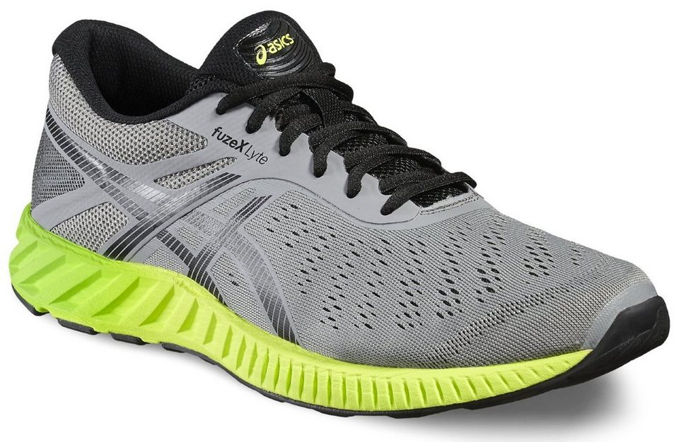 asics Runningschuh »fuzeX Lyte Shoe Men« in grau