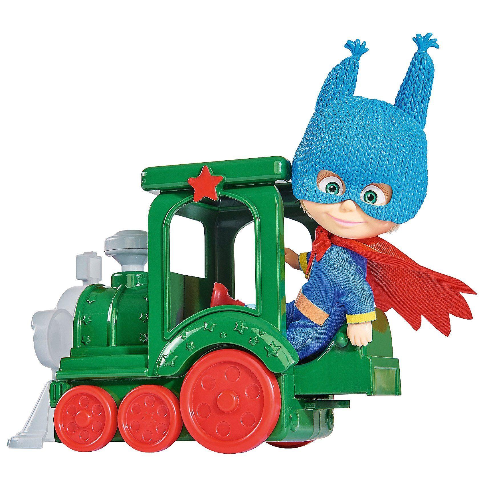 Simba Masha Superheld mit Zug
