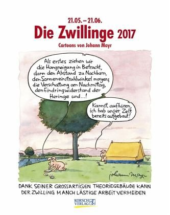 Kalender »Die Zwillinge 2017 Sternzeichen-Cartoonkalender«