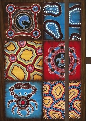 Kalender »Premium Timer Big Australia - Mosaik I 2017«