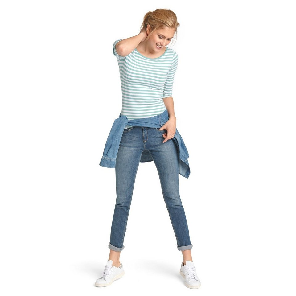 H.I.S Jeans »Monroe, leichte Used-Waschung« in seashell blue