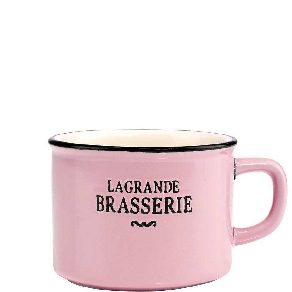 BUTLERS LA GRANDE BRASSERIE »Tasse klein« in rosa