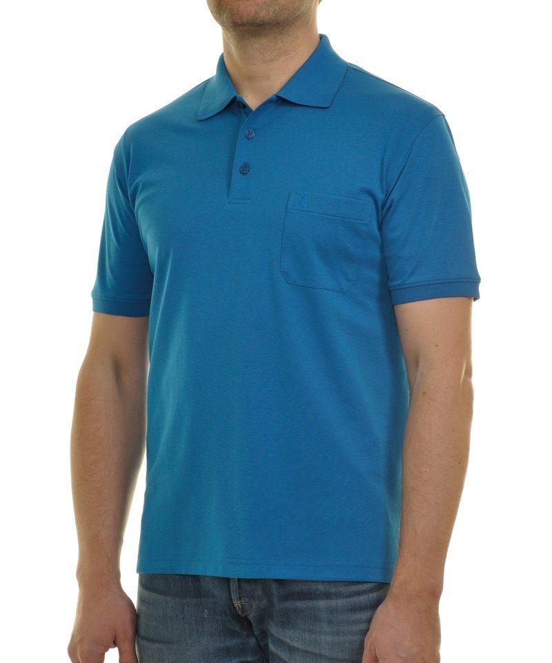 Ragman Poloshirt in türkis