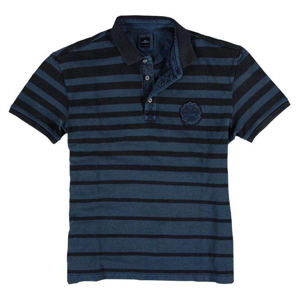 engbers T-Shirt in Enzianblau