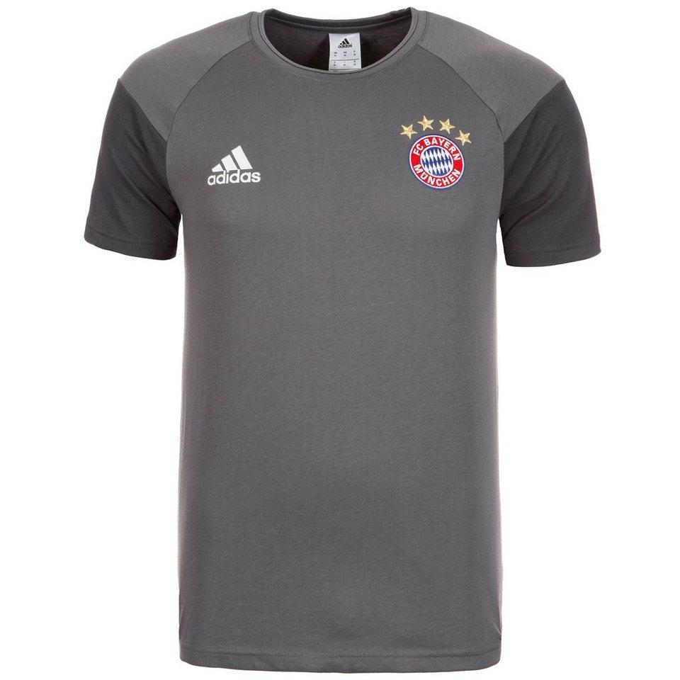 adidas Performance FC Bayern München T-Shirt Herren in grau / dunkelgrau