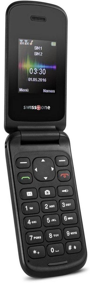 swisstone Handy »SC 330« in Schwarz