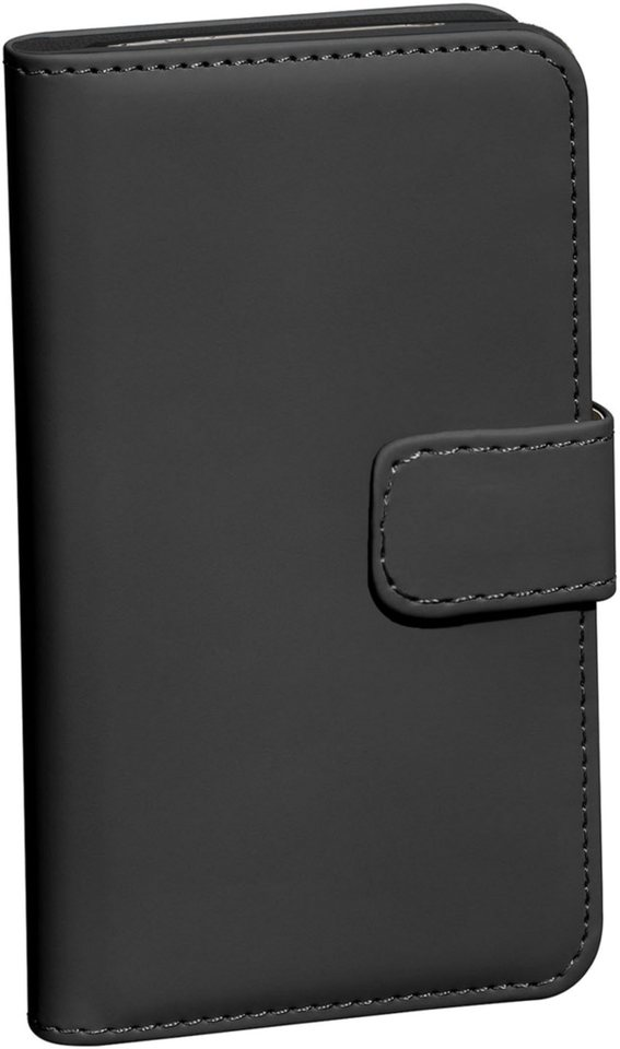 PEDEA Handytasche »Book Cover Classic für Huawei P9 Plus« in Schwarz