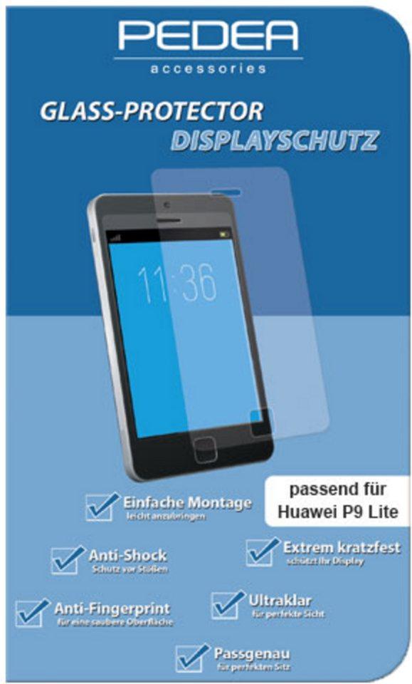 PEDEA Folie »Glasschutzfolie für Huawei P9 Lite« in Transparent