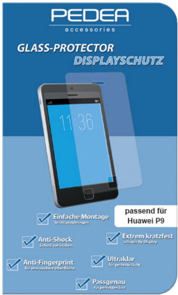 PEDEA Folie »Glasschutzfolie für Huawei P9« in Transparent