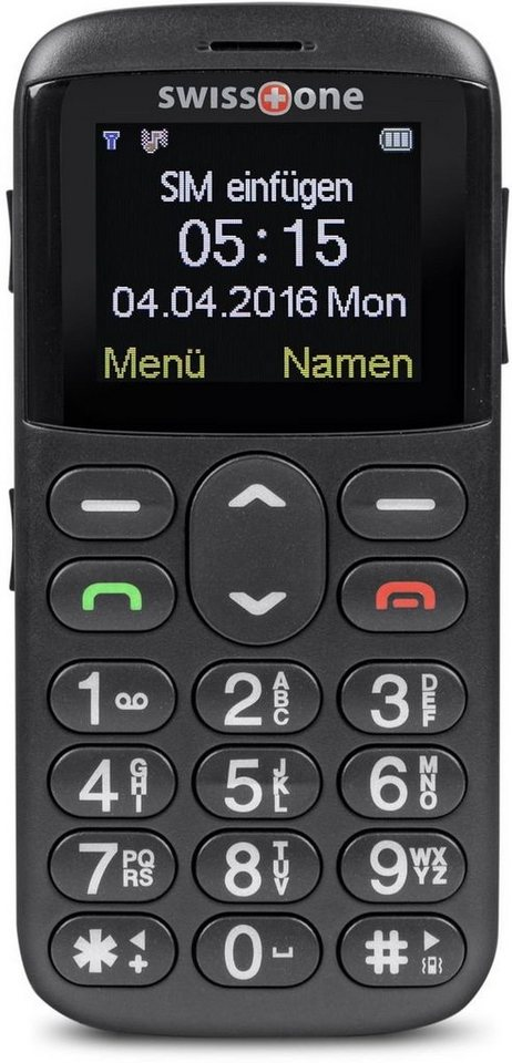 swisstone Handy »BBM 515« in Schwarz