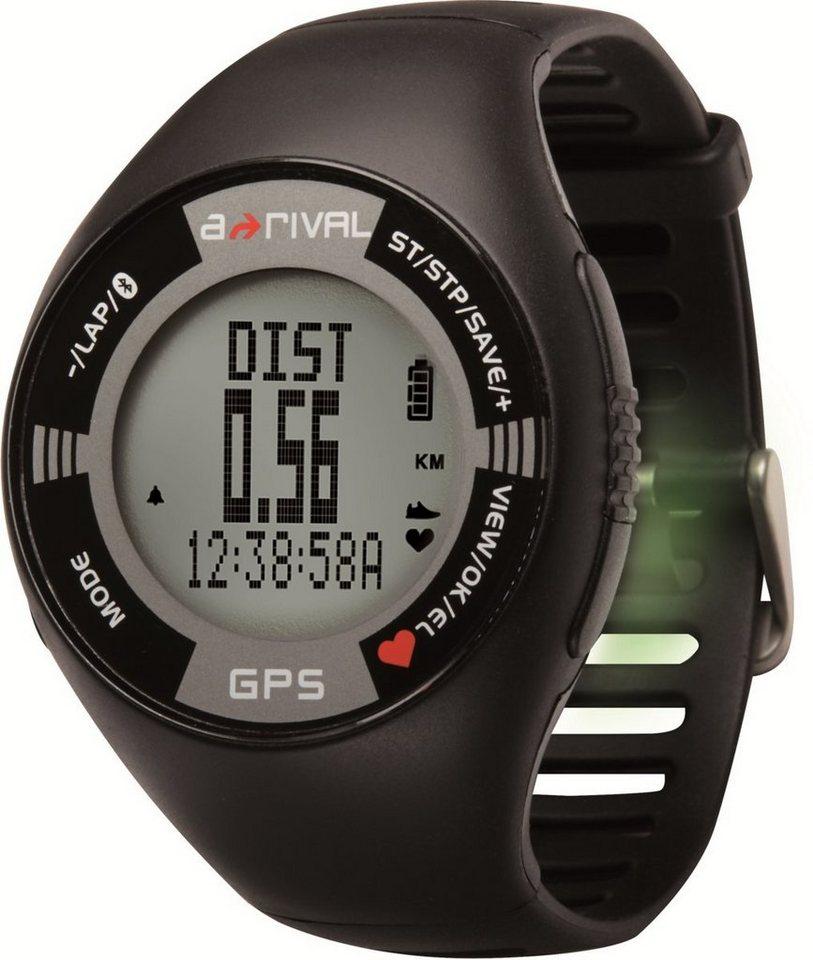 a-rival GPS-Uhr »SpoQ HR« in Schwarz