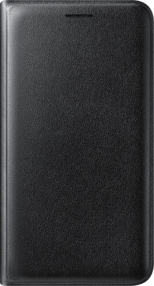 Samsung Handytasche »Flip Wallet EF-WJ120 für Galaxy J1 (2016)« in Schwarz