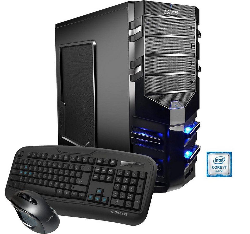 Hyrican Gaming PC Intel® i7-6700, 16GB, SSD + HDD, GeForce® GTX 1070 »Alpha Gaming 5153«