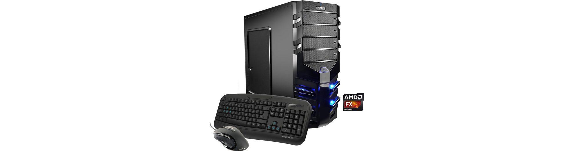 Hyrican Gaming PC AMD FX-8350, 16GB, SSD + HDD, GeForce® GTX 1070 »Alpha Gaming 5144«