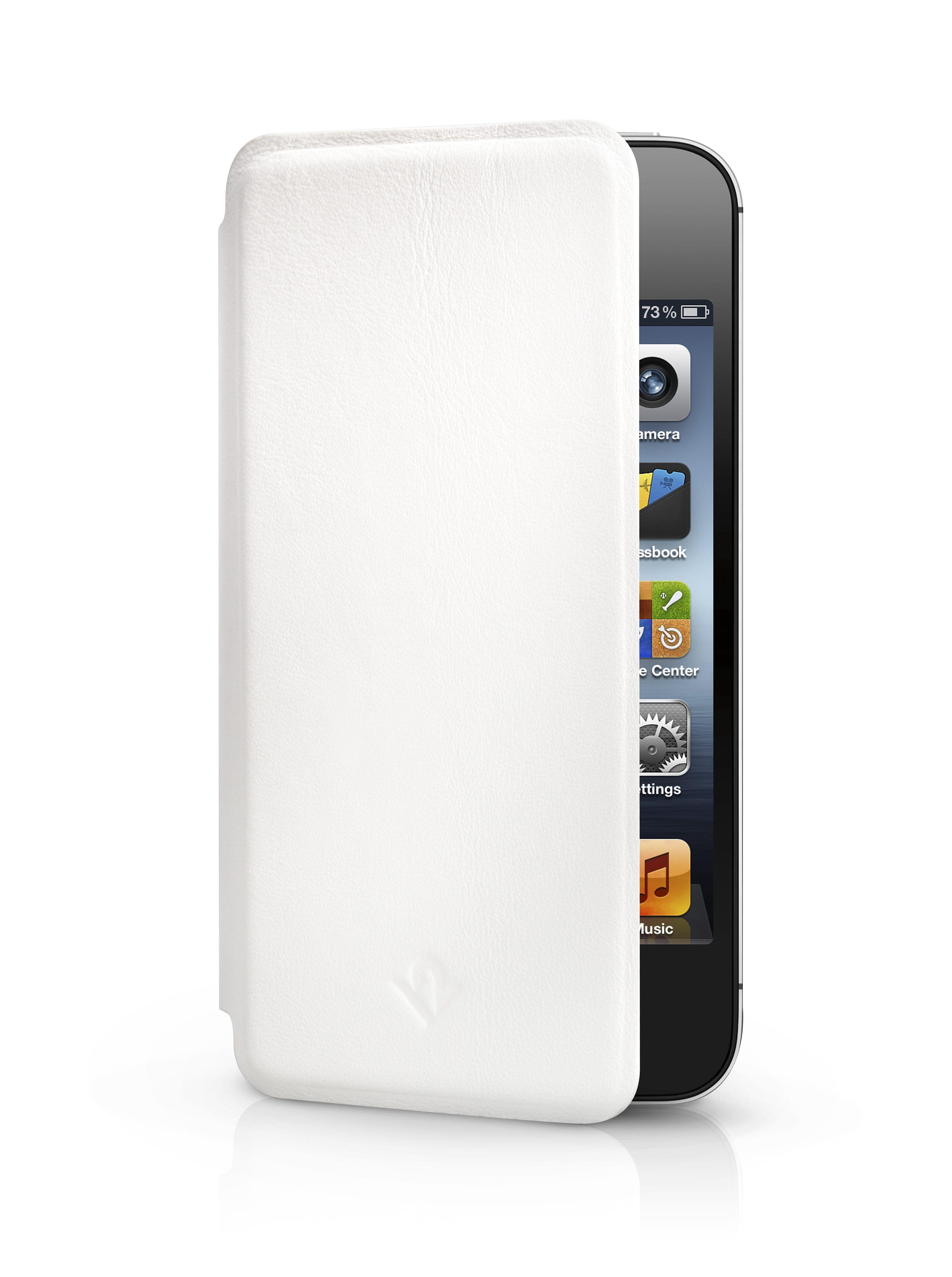 Twelve South Lederhülle mit Standfunktion für iPhone 4/4S »SurfacePad«
