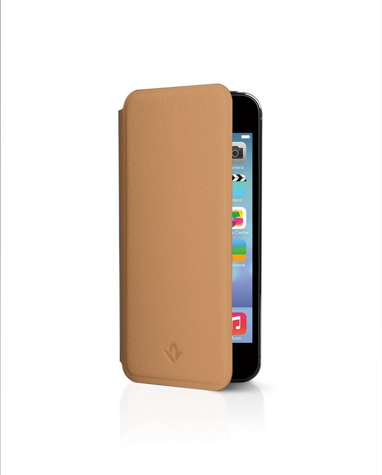 Twelve South Schutzhülle aus Leder mit Standfunktion für iPhone 5/5S »SurfacePad« in Camel