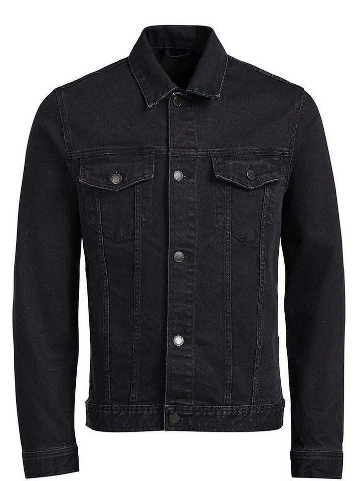 Jack & Jones Klassische Jeansjacke in Black Denim