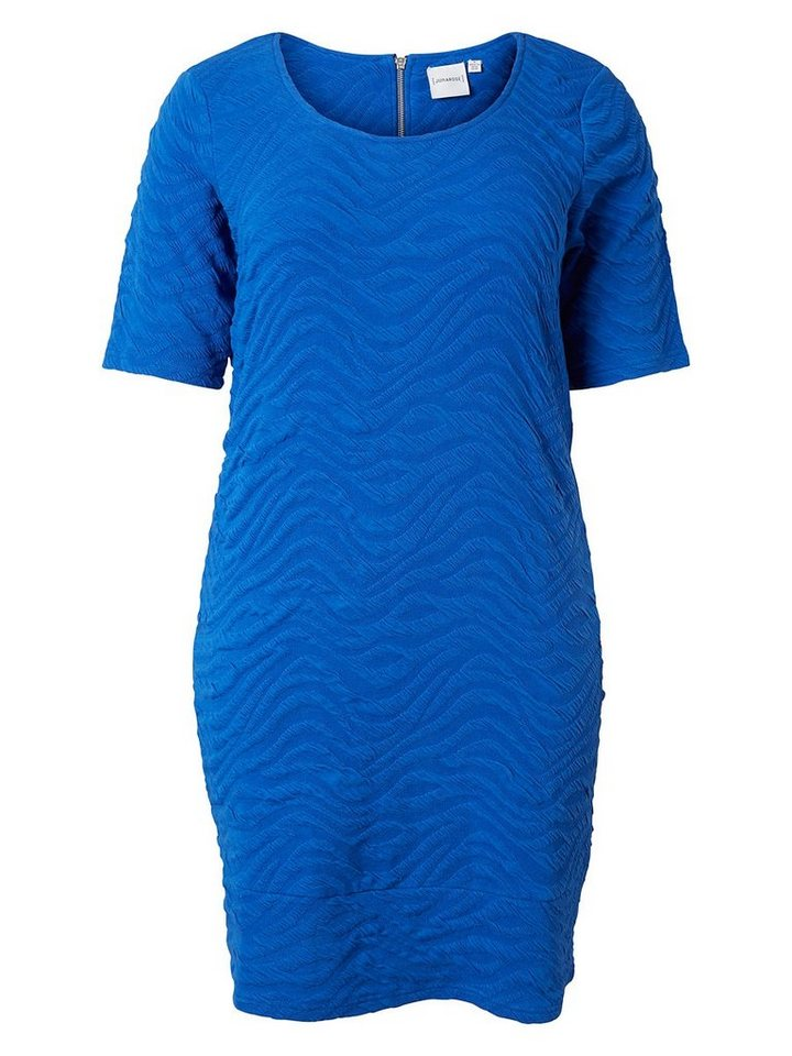 JUNAROSE Strukturiertes Kleid in Surf The Web