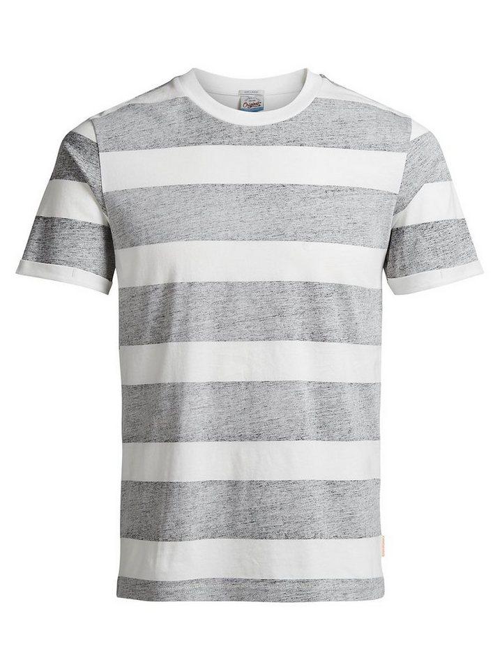 Jack & Jones Gestreiftes T-Shirt in Black