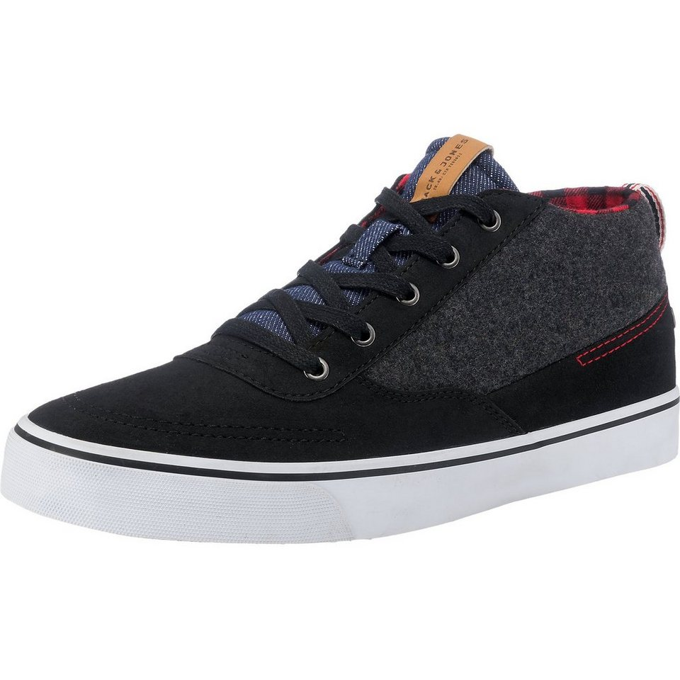 JACK & JONES Shark Sneaker in anthrazit