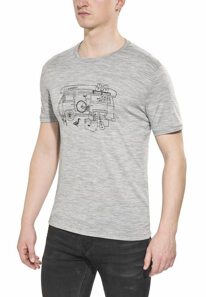 Icebreaker T-Shirt »Tech Lite SS Crewe Graphic Collection Men« in grau