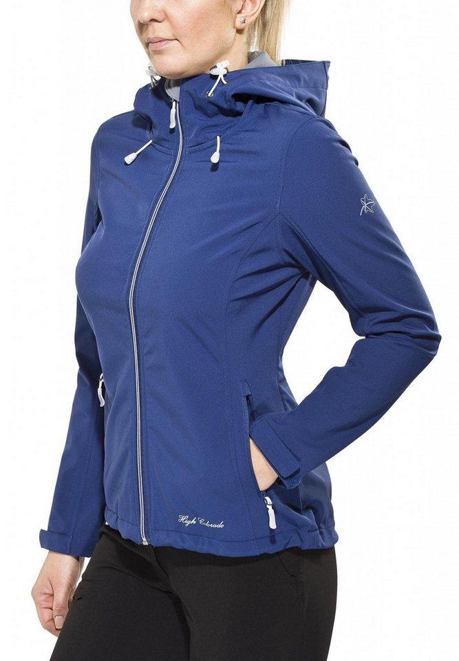 High Colorado Softshelljacke »Tamaro Jacke Damen« in blau