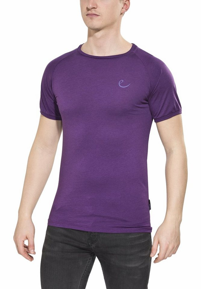 Edelrid T-Shirt »Kamikaze T-Shirt Men« in lila