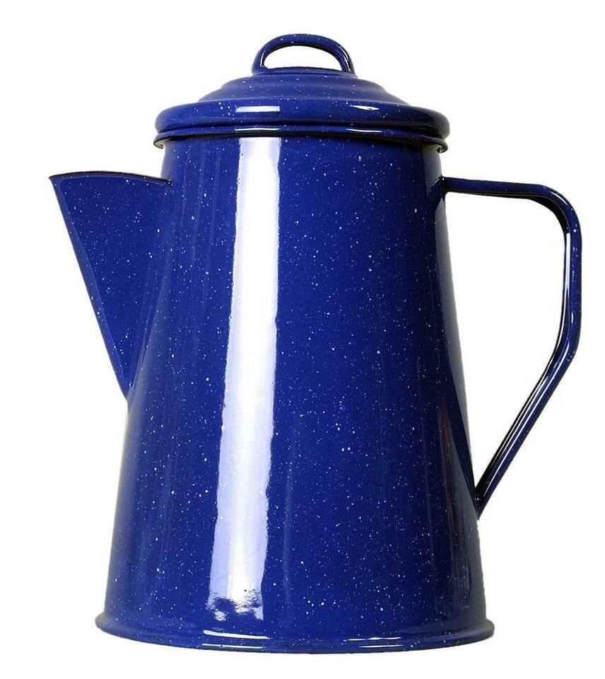 Relags Camping-Geschirr »Emaille Kaffeekanne 1000ml« in blau