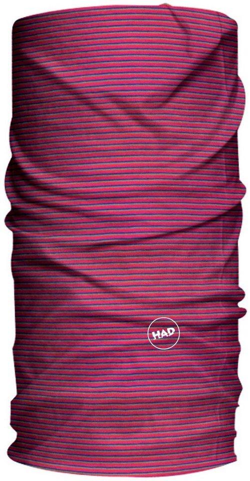 HAD Schal »Solid Stripes Schlauchtuch Kids« in pink