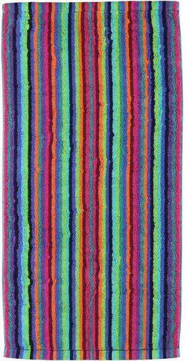Badetuch »Lifestyle Streifen«, Cawö, mit feinen Streifen
