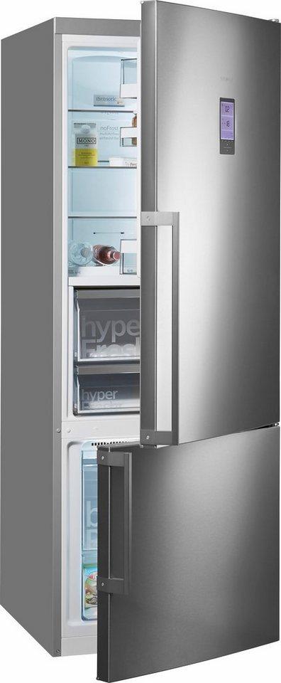 siemens k hl gefrierkombination kg56fpi40 a 193 cm hoch nofrost online kaufen otto. Black Bedroom Furniture Sets. Home Design Ideas