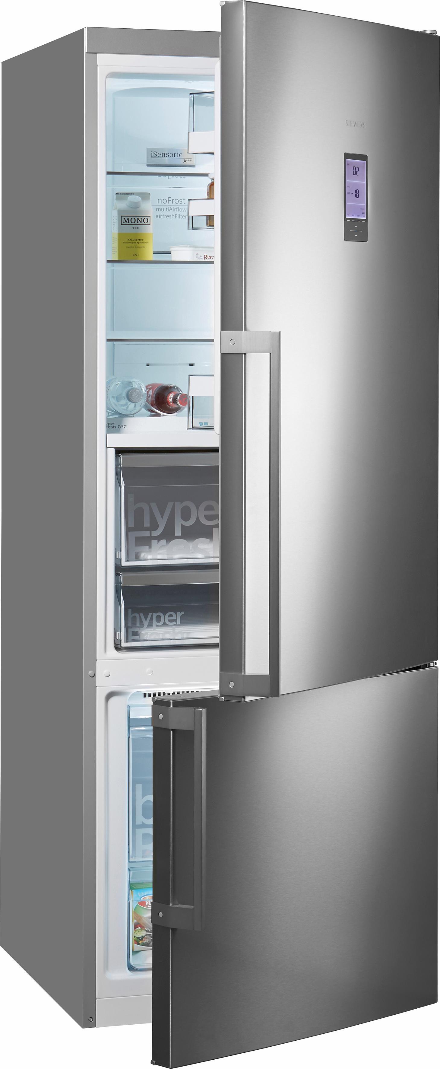 Siemens Kühl-Gefrierkombination KG56FPI40, Energieklasse A+++, 193 cm hoch, No Frost, Home Connect