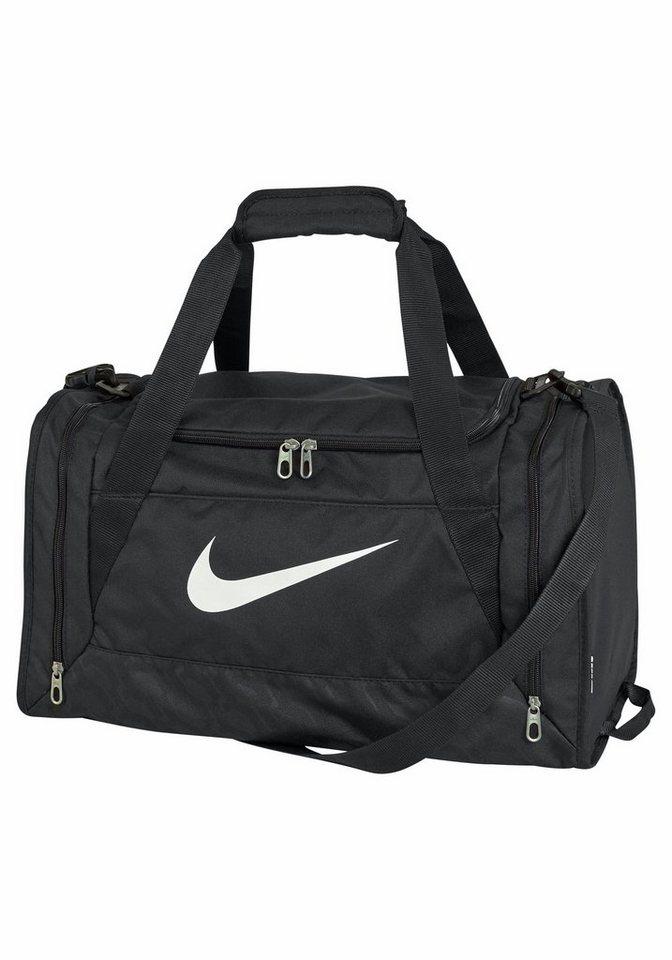 Nike BRASILIA 6 DUFFEL Sporttasche in schwarz