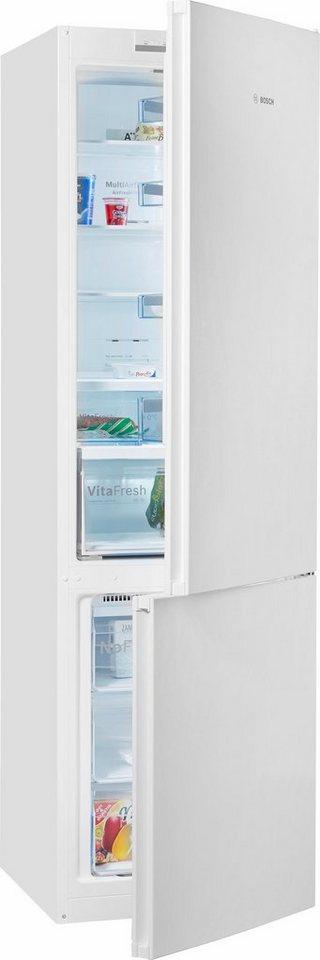 Bosch Stand-Kühl-Gefrierkombination KGN39VW45, A+++, 203 cm, No Frost in weiß