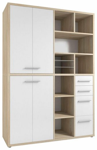 Maja Möbel Highboard »Set+ 1689«, mit 10 Fächern