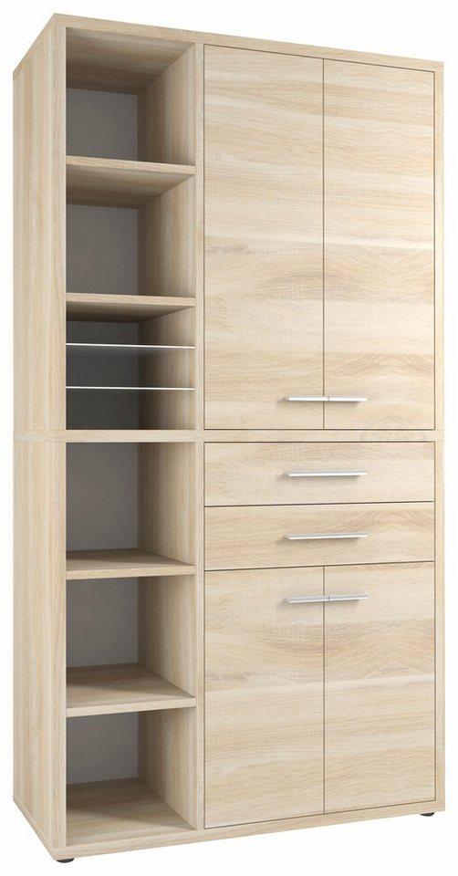 maja m bel highboard kombination set 1688 otto. Black Bedroom Furniture Sets. Home Design Ideas