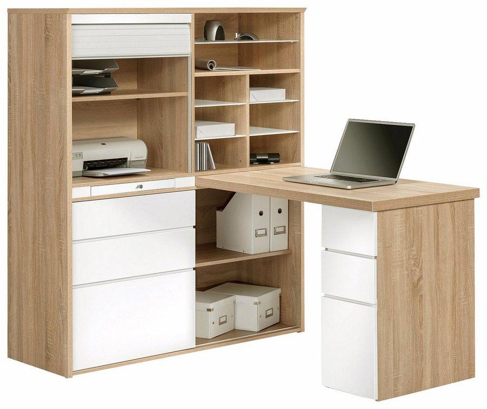 maja m bel minioffice 9565 mit ausziehbarer tischplatte online kaufen otto. Black Bedroom Furniture Sets. Home Design Ideas