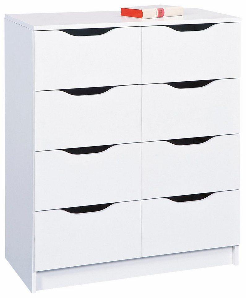 Kommode, »Westphalen« Breite 80 cm in weiß