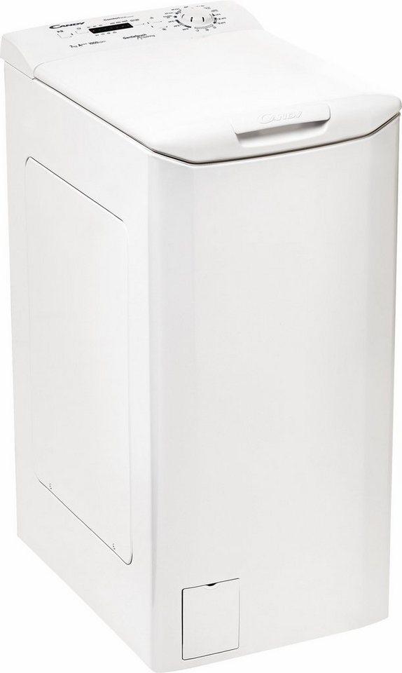 Candy Waschmaschine Toplader CLTHG370L-S, A+++, 7 kg, 1000 U/Min in weiß