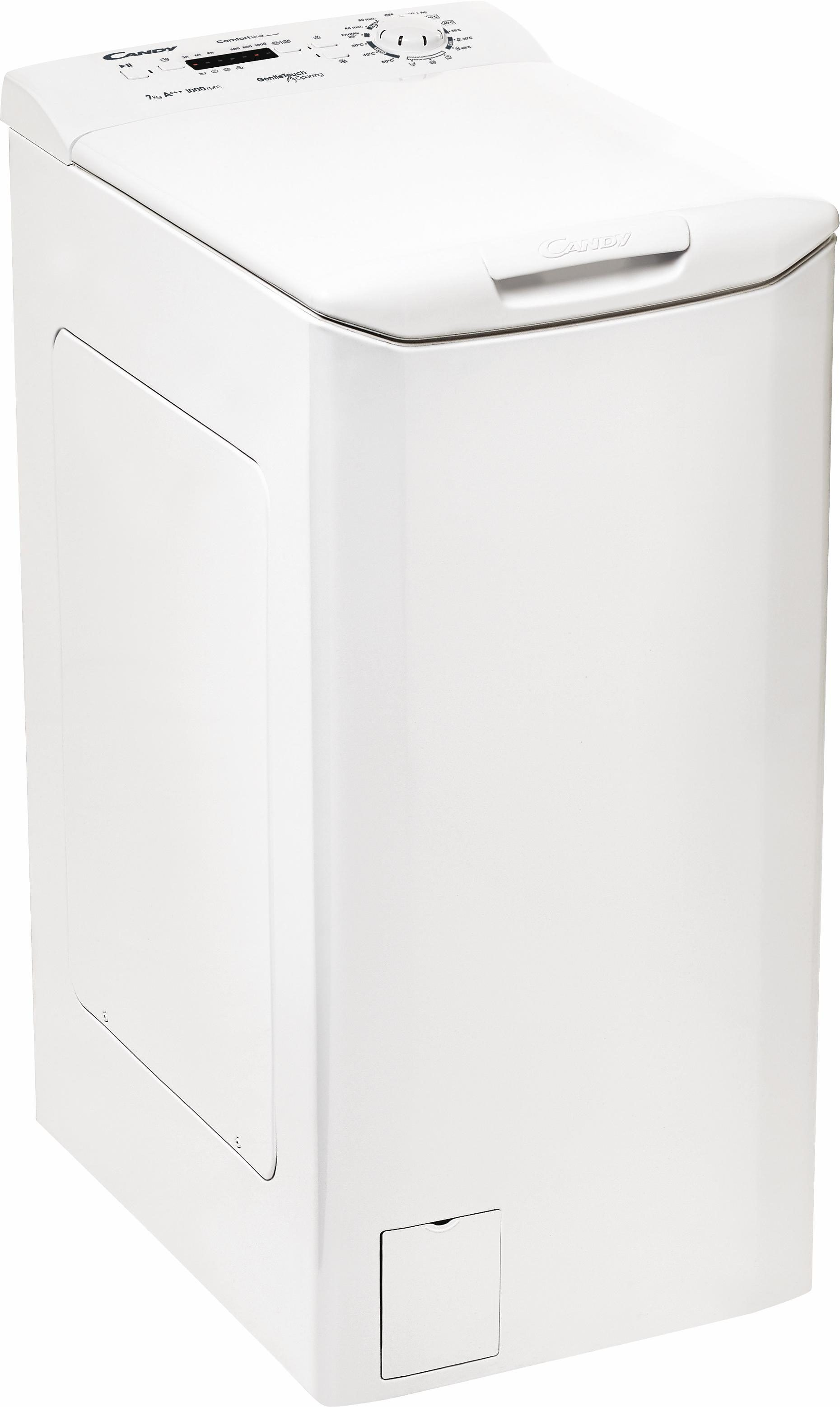 Candy Waschmaschine Toplader CLTHG370L-S, A+++, 7 kg, 1000 U/Min