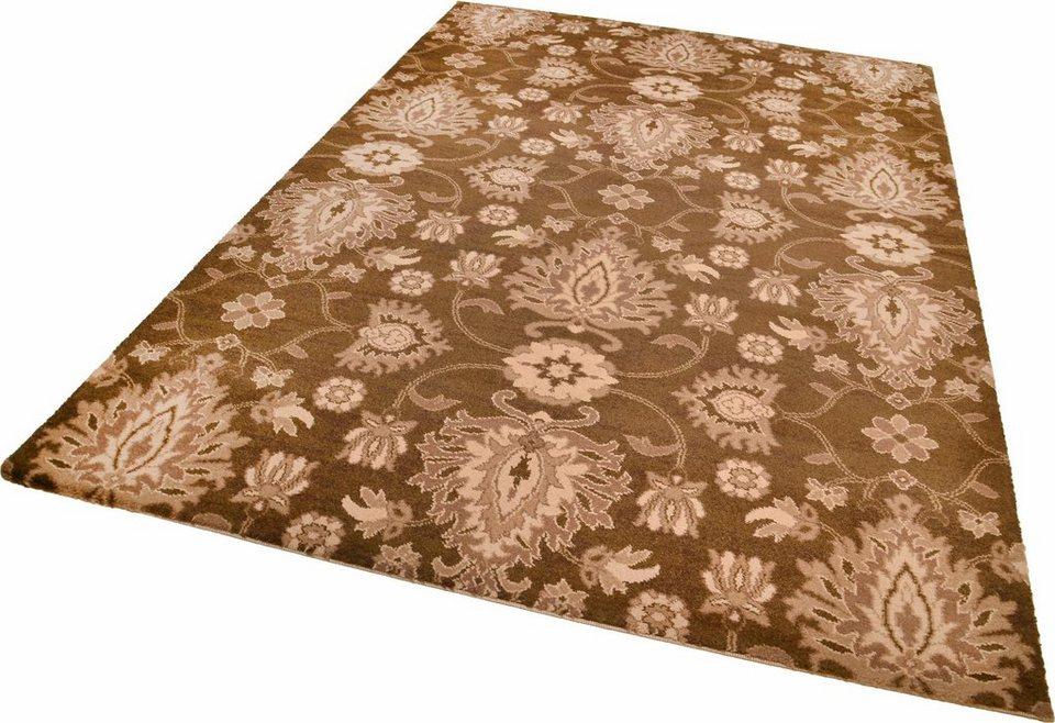 Teppich »Timeless 1«, Theko, rechteckig, Höhe 12 mm in braun