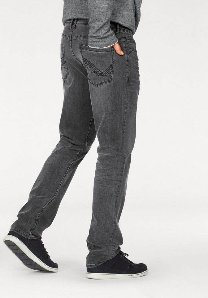 Tom Tailor Stretch-Jeans »JOSH« in grey