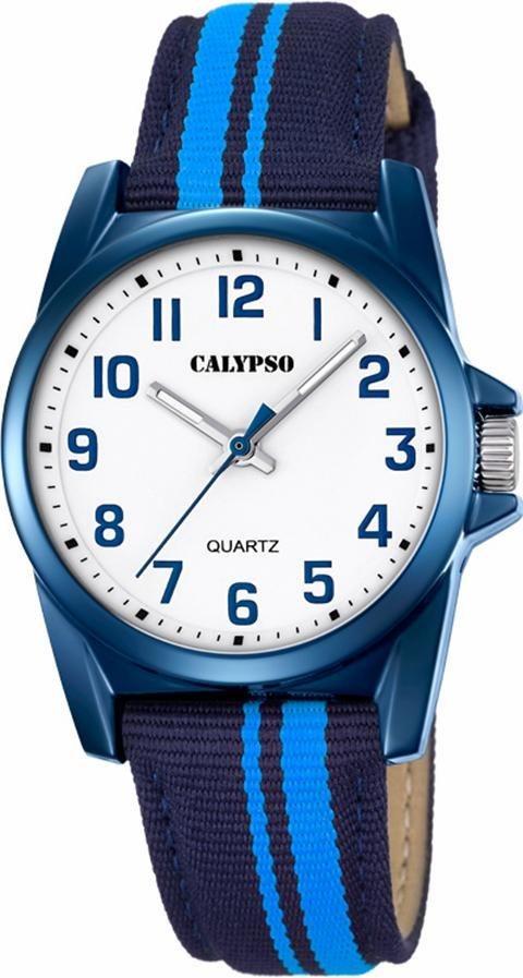 CALYPSO WATCHES Quarzuhr »K5707/6« in hellblau-dunkelblau