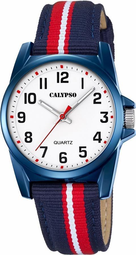 CALYPSO WATCHES Quarzuhr »K5707/5« in blau-rot-weiß