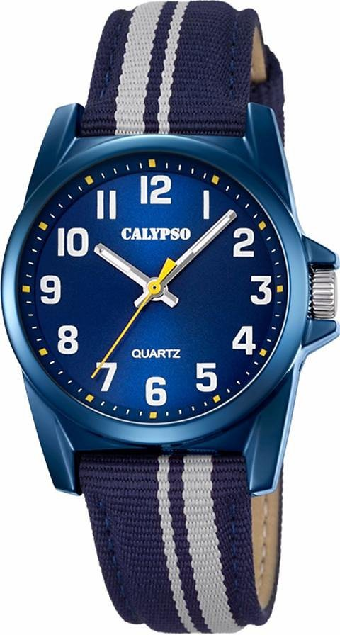 CALYPSO WATCHES Quarzuhr »K5707/7« in blau-grau